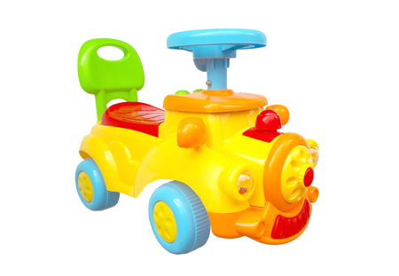 plaything: Colorful toy truck for young kids