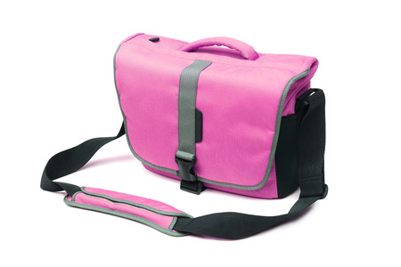 Shoulder bag isolated Stock Photo