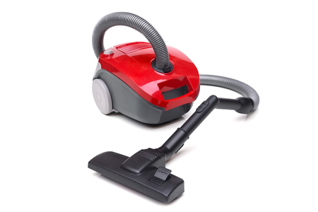 sweeper: Vacuum cleaner isolated