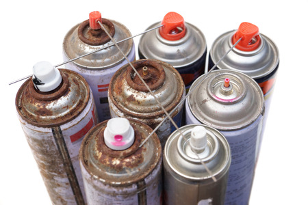 Household Hazardous Waste - aerosol cans