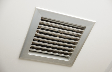 Dirty air ventilator