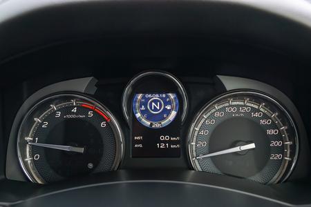 Motor Vehicle Speedometer