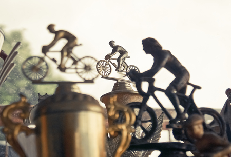 Mountain bike trophy / MTB competition vintage