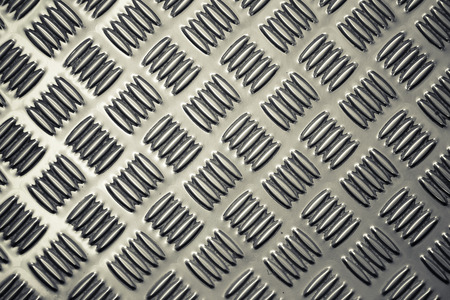 Pattern style of Steel floor background and texture Reklamní fotografie