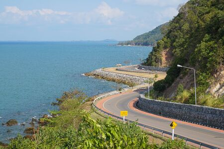 Nang Phaya View Point in Chantaburi province, Thailand Standard-Bild - 126832423