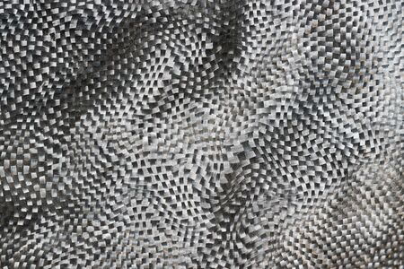 Abstract grey carbon texture background Stockfoto