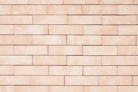 Light brown brick wall background