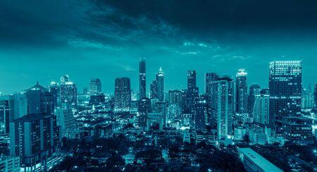 Bangkok city at  Thailand