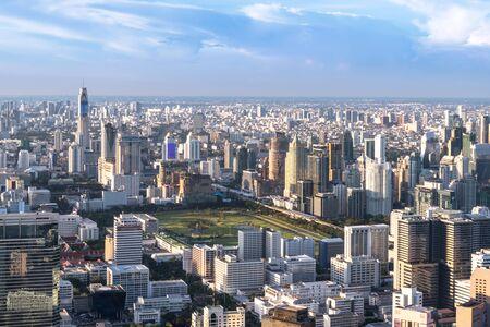 City Scape Bangkokk Buildings Travel Concept.