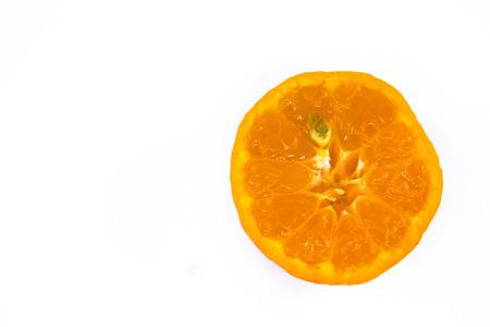 half orange ball