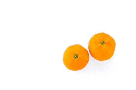 ambos: dos bolas de color naranja Foto de archivo