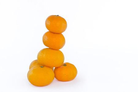 group of orange balls Banco de Imagens - 23573657