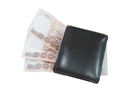 Wallet Notes on a white background