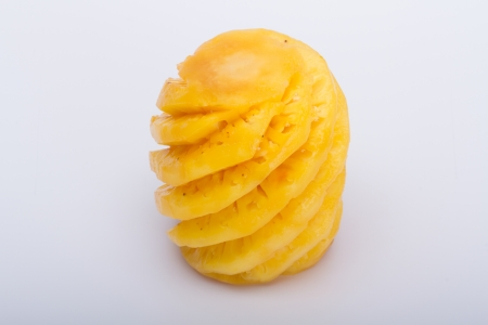 Pineapple  on a white background Stock Photo