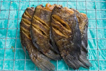 Fish fry Thailand Food
