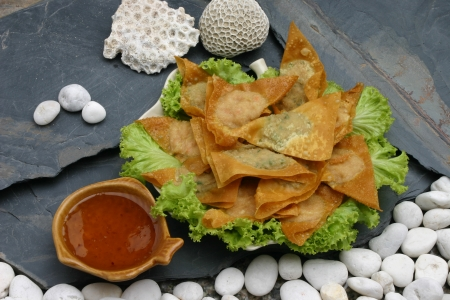 Pork dumplings Thailand Food