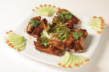 Pork ribs Thailand Food