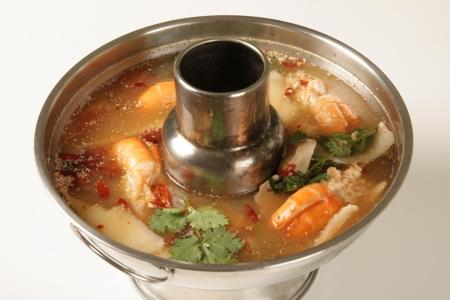 Tom Yum Goong  Food of Thailand Stock Photo