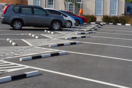 voiture parking: Parking dans le parc