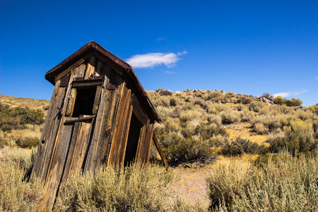 outhouse: Outhouse In California Ghost Town
