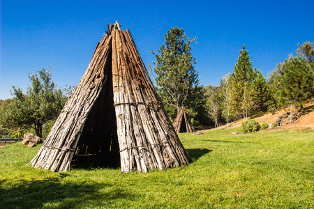 American Indian Tepees In California
