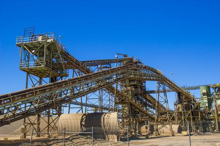 Conveyers & Elevators At Gravel Plant