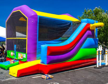 Bounce Ball House For Kids Фото со стока
