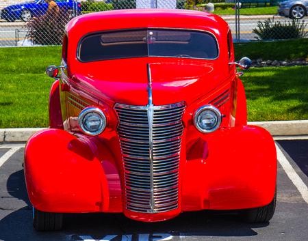 Classic Hot Rod Auto Reklamní fotografie