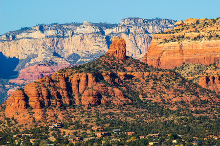 Red Mountain Butte Overlooking Arizona Valley