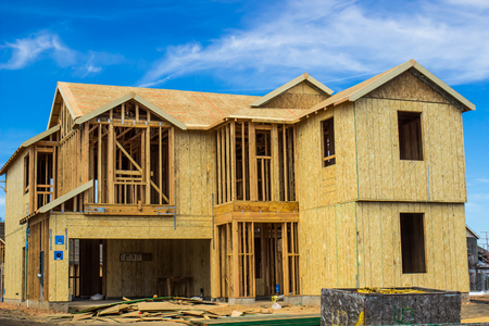 New Construction Of Two Story Home