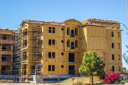 Brand New Residential Building Under Construction