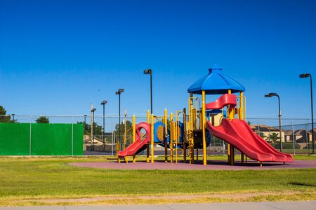Children's Playground Equipment With Slides