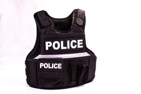 Law Enforcement Police Bullet Proof Vest Foto de archivo