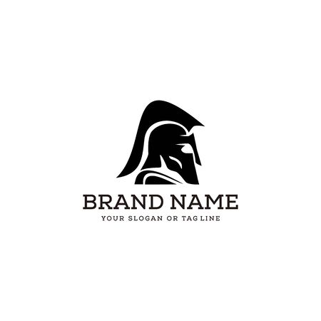 creative logo design concept spartan vector template 向量圖像