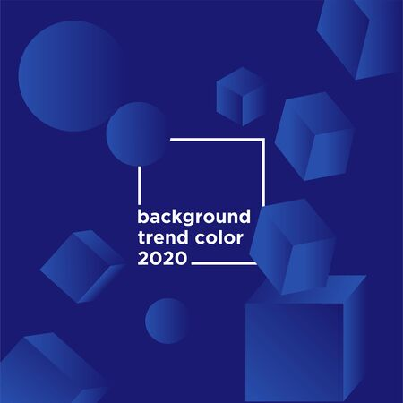 vector design background color trend 2020 template