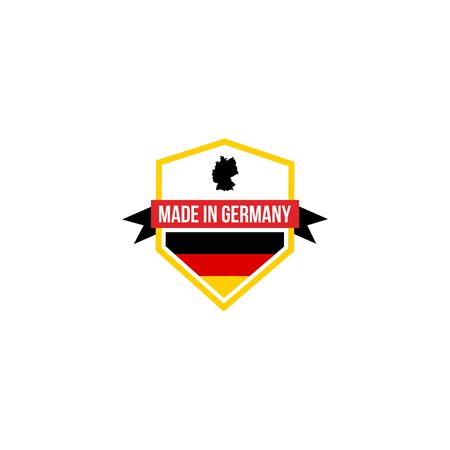 logo design concept made in germany vector template Фото со стока - 138041019