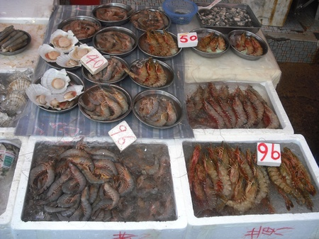 Seafood stall Stock Photo - 12279421