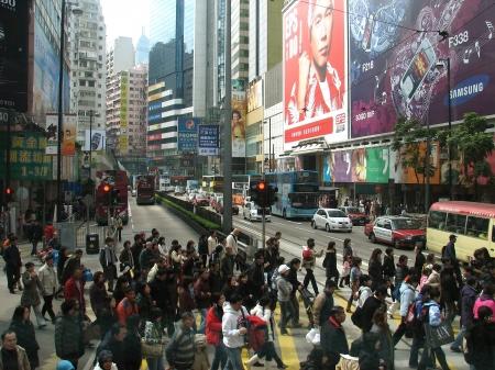 signage outdoor: Hong Kong