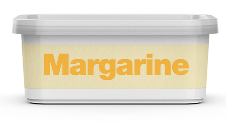Margarine pack without branding