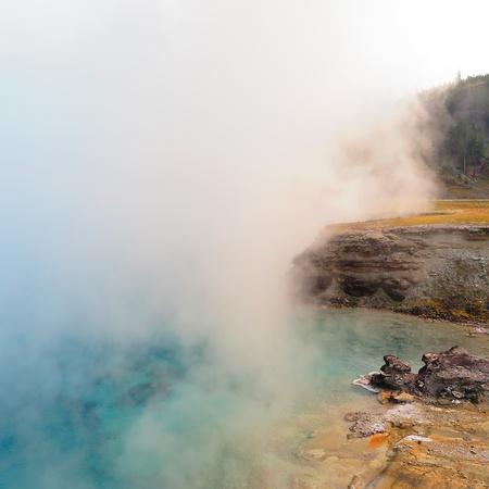 yellowstone: Yellowstone Stock Photo