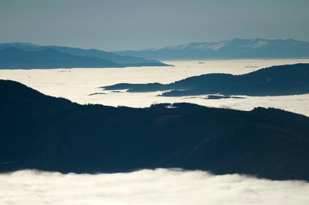 inversion: Eastern alpine inversion weather conditions