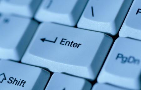 importation: Keyboard. Stock Photo
