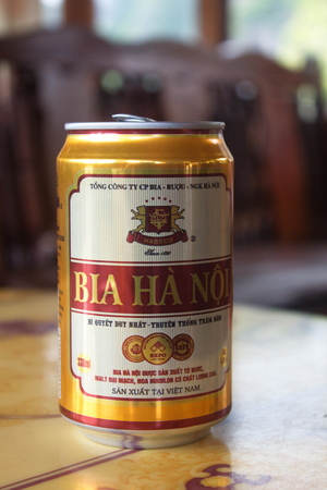 Vietnam Beer. Summer Travel in Vietnam. Year 2011. August 6th. Editorial