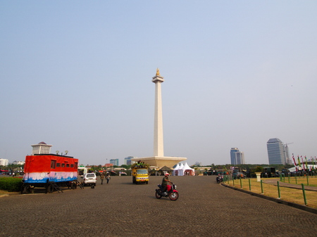 TUGU MONUMEN NASIONAL. Travel in Jakarta, the Capital of Indonesia. 4th October, 2012 Editorial