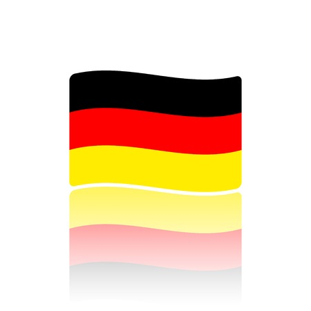 germanic: Germany flag. Made in vector