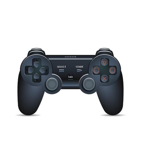Gamepad Joystick. Console de jeu Joystick. Image réaliste. Made in illustration vectorielle Vecteurs