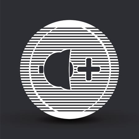 specular: Icono del altavoz m�s fuerte. Estilo Dise�o plano. La reflexi�n especular.