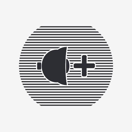 specular: Icono del altavoz m�s fuerte. Estilo Dise�o plano. La reflexi�n especular