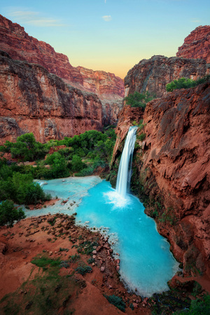 Havasu Falls Sunset