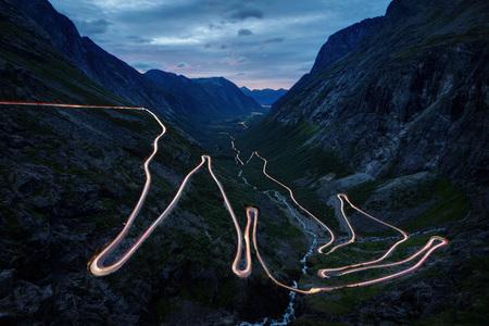Trollstigen Norvège prise en 2017